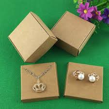 necklace boxes images 50set kraft jewelry box jewelry cards earring necklace box blank jpg