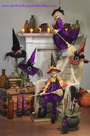 Flying Witch Decoration Shelley B Decor And More Raz 2012 Halloween