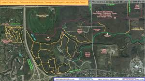 Dupage County Map 1track Org Overview Of Great Rides