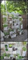 Cinder Block Garage Plans by 75 Best Fence Alternatives Images On Pinterest Cinder Blocks