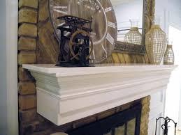 diy fireplace mantel shelf plans easy idea projects