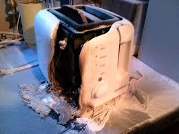 Burning Toaster Cuisinart Toaster Model Cpt 120 Caught On Fire Mr