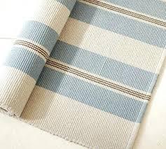 Striped Kitchen Rug Cotton Rugs Striped Cotton Kitchen Rugs Garden Stripe Woven Rug