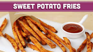 How To Cook A Potato In A Toaster Oven How To Make Crispy Baked Sweet Potato Fries Healthy Recipe Mind