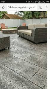 Wood Grain Stamped Concrete by Best 25 Wood Stamped Concrete Ideas On Pinterest Stamped