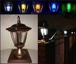 4x4 solar post lights solar light copper color post cap led 4x4 5x5 6x6 or wall mount