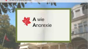 Klinik Bad Bodenteich A Wie Anorexie Youtube