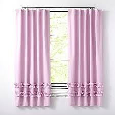 Ruffled Pink Curtains Purple And Pink Curtains Rabbitgirl Me