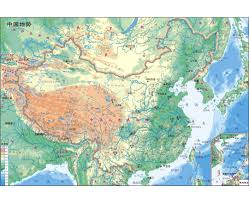 China Topographic Map by Detailed Resources Map Of China Map Of Nature Reserves In China