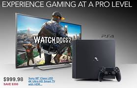 best tv deals for black friday 2016 get a ps4 pro with a 55