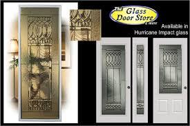 Exterior Glass Door Inserts Impact Glass Doors For Ta Florida Hurricane Protection