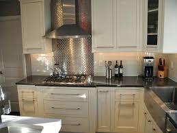 metal backsplash for kitchen stainless steel subway tile kitchen backsplash u2013 asterbudget