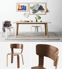 Dining Chairs Wood Furniture Ideas 14 Modern Wood Chairs For Your Dining Room