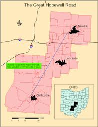 Logan Ohio Map by Hopewell Road