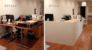 Ikea Reception Desk Catchy Ikea Reception Desk Lobbeforeandafter Ikea Desk And Facade