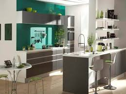 couleur peinture cuisine moderne couleur peinture cuisine ouverte sur galerie et couleur cuisine