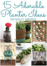diy planters 15 diy planter ideas for your spring garden diy planters for spring
