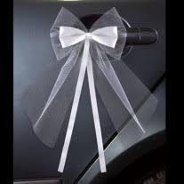 noeud de voiture mariage noeud de voiture mariage noeud automatique en satin ou tulle