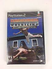 Backyard Wrestling 2 Ps2 Backyard Wrestling Don U0027t Try This At Home Sony Playstation 2