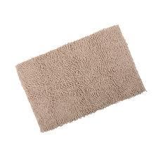 Washable Bath Rugs Odyssey Chenille Cotton Shower Bath Mat Soft Washable Bathroom Rug