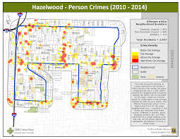 Portland Neighborhoods Map by Portland State Criminal Justice Policy Research Institute