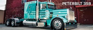 Semi Truck Interior Accessories Peterbilt 359 Parts 4 State Trucks