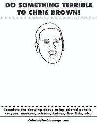 brown coloring pages
