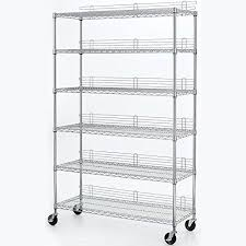 Industrial Shelving Units by Amazon Com 6 Tier 47 7 In X 77 In X 18 In Wire Industrial Use