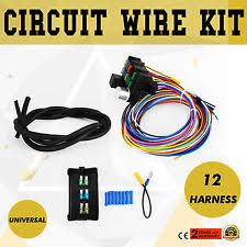 12 circuit wiring harness ebay