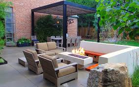 Custom Metal Fire Pits by Custom Metal Arbor Outdoor Dining Space And Fire Pit Patio Mile