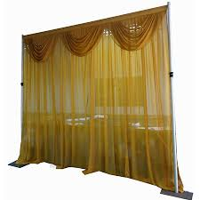 Chiffon Drape Pipe And Drape Kits Pipe And Drape Wedding Photo Booth Package