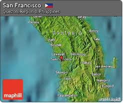 san francisco quezon map free satellite map of san francisco