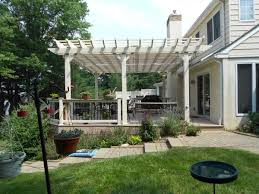 artistic wooden patio cover designs with do it yourself pergola