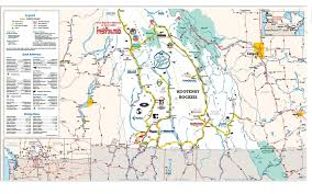 Highway Map Fresh Adventures Guided Bc Powder Highway Tours