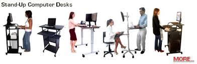 Stand Up Computer Desk Adjustable Cuzzi Compact Computer Desks Stand Up Desks Laptop Desks Lcd