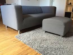 usato divano ikea klippan u0026 pouf in 20158 milano su u20ac 100 00 shpock