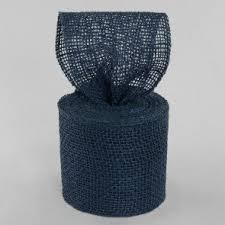 navy lace ribbon burlap ribbon craftoutlet