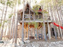 three house a look inside a designer treehouse getaway in durham