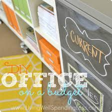 Diy Outdoor Living Space On A Budget Diy Office On A Budget Living Well Spending Less