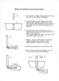 instructions for making a putt putt boat