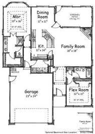 2 Bedroom House Plans Open Floor Plan W3288 V1 Scandinavian Inspired House Plan Open Floor Plan 2