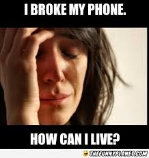 Broken Phone Meme - i broke my phone thefunnyplanet funny pictures epic fails