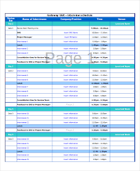 Schedule Excel Templates Excel Schedule Template 11 Free Pdf Word Document