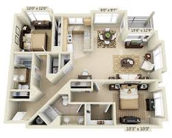 Floor Plans For 2 Bedroom Homes by Floor Plans And Pricing For Borgata Apartment Homes Bellevue Wa