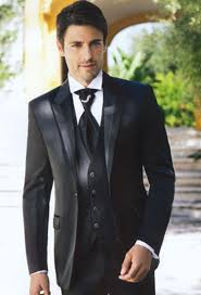 wedding suits 2015 fashion black mens suits peaked lapel wedding suits for