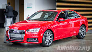 audi a4 2016 2016 audi a4 b9 teased on audi malaysia website launching soon