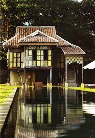 thailand houses thai house mock up at asian village malaka