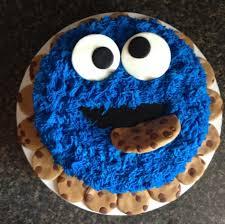 cookie monster cake found my birthday cake toddler ideas