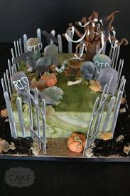 Graveyard Cakes Halloween Seasonal Cakes Gallery U2013 A Piece O U0027 Cake