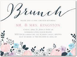 bridal luncheon invitations wording painted perennials after wedding brunch invitations magnolia